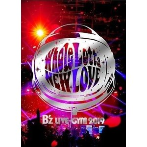 B'z LIVE-GYM 2019 -Whole Lotta NEW LOVE- (DVD) (3月...