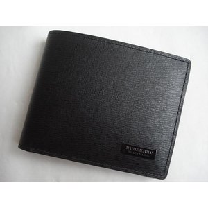 best cheap 645ef 2190c バーバリー ブラックレーベル(BURBERRY BLACK LABEL) 折財布 ブラック×ブラック メンズ