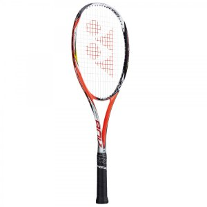 YONEX ソフトテニスラケット  ネクシーガ90V (ガット張加工有り) ブライトレッド NXG90V