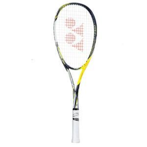 YONEX ソフトテニスラケット  エフレーザー5S (ガット張加工有り)  レーザーイエロー  FLR-5S