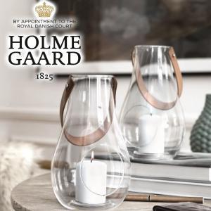ホルムガード ランタンクリアH25cm/HOLMEGAARD DESIGN WITH LIGHT デザインウィズライト デンマークホルムガードのガラス製ランタン tasukurashi