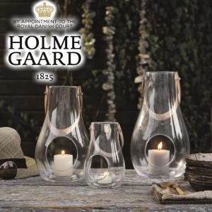 ホルムガード ランタンクリアH16cm/HOLMEGAARD DESIGN WITH LIGHT デザインウィズライト デンマークホルムガードのガラス製ランタン tasukurashi
