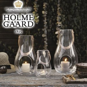 ホルムガード ランタンフロストH16cm/HOLMEGAARD DESIGN WITH LIGHT デザインウィズライト デンマークホルムガードのガラス製ランタン tasukurashi