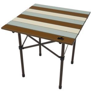 ロゴス/LOGOS LOGOS Life ロールサイドテーブル(ヴィンテージ)四角形の小型テーブルは...