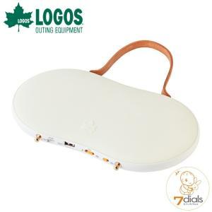 LOGOS/ロゴス 野電 あったかパッド(USB蓄電) 電気式カイロとライトの便利な2WAY  テント内で、夜間はライトとして、就寝時にはカイロとして|tasukurashi