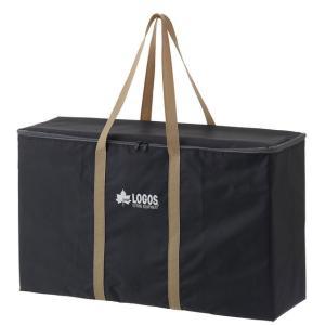 ロゴス/LOGOS グリルキャリージップバッグ M 汚れたグリルが箱ごと収まるキャリーバッグ(Mサイズ用)ジッパー付きのフルクローズタイプなので出し入れがしやすい|tasukurashi