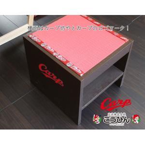 カープグッズ カープ畳 畳椅子 日本製 こうひんオリジナル商品 広島カープ 広島東洋カープ公認グッズ|tatamikouhinn