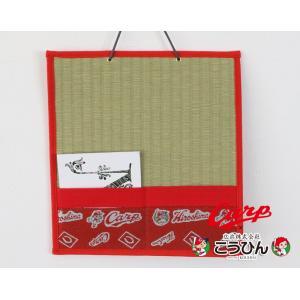 カープグッズ カープ畳 壁掛け 日本製 こうひんオリジナル商品 広島カープ 広島東洋カープ公認グッズ|tatamikouhinn