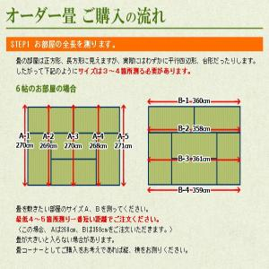 畳 1帖 日本製 い草 新畳 畳替え|tatamikouhinn|02