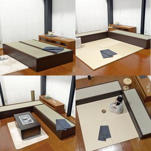 ベッド セミダブル 畳ベッド 日本製 収納付き ヘッドレス 国産フレーム たたみベッド|tatamikouhinn|03