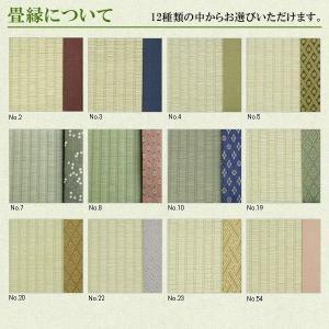 畳ベッド シングル用 取り替え畳 ベッド用畳 取り換え畳 国産い草畳 縁付き 畳2枚1セット 日本製|tatamikouhinn|02