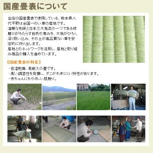畳ベッド シングル用 取り替え畳 ベッド用畳 取り換え畳 国産い草畳 縁付き 畳2枚1セット 日本製|tatamikouhinn|03