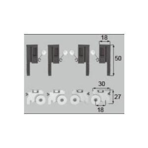 LIXIL/TOSTEM 窓サッシ用部品 戸車 網戸:戸車振れ止め(マド:4枚建て)ABYB512 リクシル トステム|tategushop