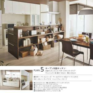 食器棚 キッチン収納 リクシル/LIXIL アレスタ 収納ユニット 壁付型ハイフロアプラン スライドストッカー+家電収納 S2004 グループ1 tategushop 07