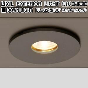 エクステリアライト 外構照明 12V美彩 ダウンライト DL-G2型 30°(ピンホールタイプ) LIXIL リクシル 庭園灯 屋外玄関照明 門灯 ガーデンライト tategushop