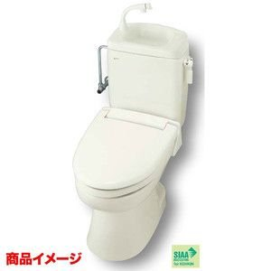 INAX トイレーナR 洋風簡易水洗便器+止水栓+暖房便座 手洗付|tategushop