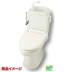 INAX トイレーナR 洋風簡易水洗便器+止水栓+普通便座 手洗付|tategushop