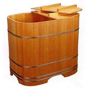木製浴槽 バスタブ 木曽の木 ゆとり 角丸式900型 高野槙 無節材|tategushop