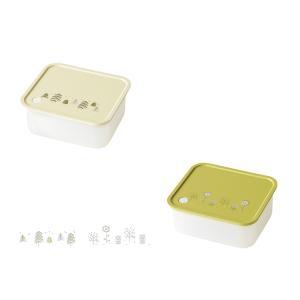 保存容器 おしゃれ ( クラフトレシピ クッカ タッパー容器 350ml ) タッパー 容器 弁当 ...