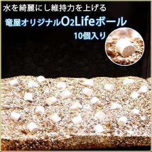 竜屋オリジナル O2 Lifeボール 10コ入り 水を綺麗にする優れもの! tatsuya-fish