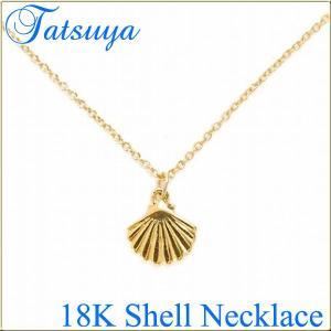 18K シェルネックレス|tatsuya-fish