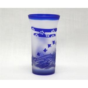 「令和」の文字入力可。新潟特産品 ガラスエッチング 名入れ松竹梅グラス-千鳥 還暦祝や結婚祝などの贈り物に最適|tattan-sougouseikatu