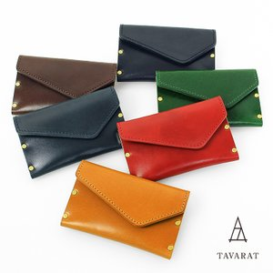名刺入れ メンズ 本革 真鍮 コンパクト 日本製 TAVARAT Tps-048  ラッピング無料 |tavarat