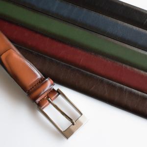 ベルト メンズ ビジネス 本革 名入れ可能 日本製 シャドー 仕上げ ノンステッチ サイズ調節可 30mm幅 Tps-052 タバラット クリスマス ギフト tavarat
