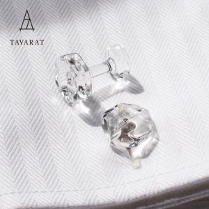カフス 日本製 ガラス ボルト型 フォーマル TAVARAT Tps-093 ラッピング無料|tavarat