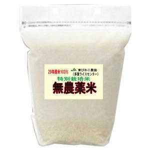 29年産 無農薬米 滋賀県産 コシヒカリ 2kg 無農薬栽培...