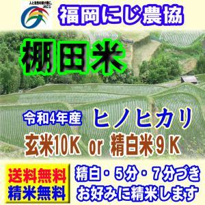 29年産 福岡県産 ヒノヒカリ 棚田米 10kg (5kg×...