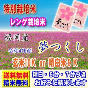 29年産 特別栽培米 福岡県産 夢つくし 10kg (5kg...