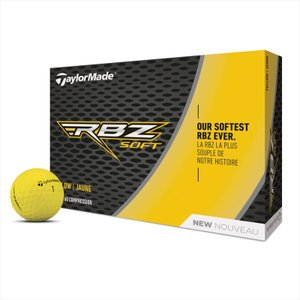 テーラーメイド(TaylorMade Golf) RBZ Soft YLW BALL / RBZ ソフトボールイエロー/1ダース(12個入り)