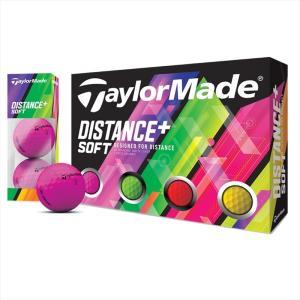 テーラーメイド(TaylorMade Golf) ディスタンス プラス ソフト マルチカラー/ Distance+ soft multi/1ダース(12個入り)