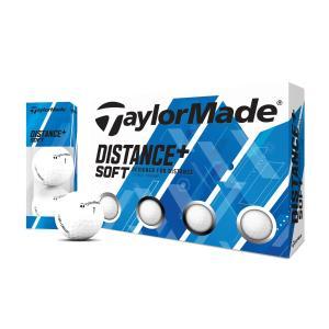テーラーメイド(TaylorMade Golf) ディスタンス+ ソフト ボール/1ダース(12個入...
