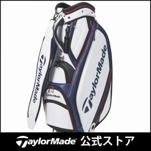 テーラーメイド(TaylorMade Golf) オーステック キャディバッグ/ホワイト/ネイビー ...