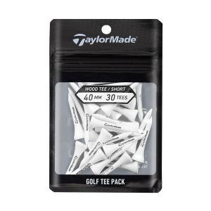 テーラーメイド(TaylorMade Golf) ウッドティーパック 40mm 30p/ホワイト /TD046-40 /N92282|テーラーメイドゴルフ