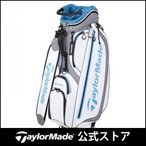テーラーメイド(TaylorMade Golf) TM ウォーターリペレント キャディバッグ/ホワイ...