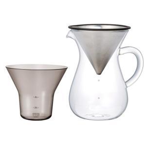 コーヒーが落ちていくスローな時間。 1972年創業のKINTO(キントー)は、「機能美を備えたデザイ...