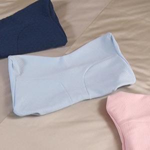 スージー 快眠枕 専用 枕カバー / ピローケース 選べる3色 ブルー ピンク サックス 00830560001707200942【TBSショッピング】|tbsshopping