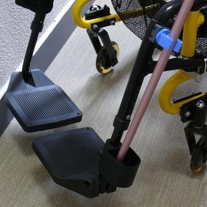 車椅子用杖ホルダー・杖立て・杖置き車椅子関連用品  車いす 車イス 便利グッズ)