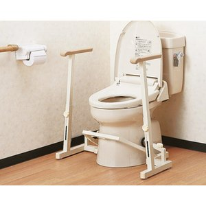 介護用品 手すり 安寿 アロン化成洋式トイレ用フレーム