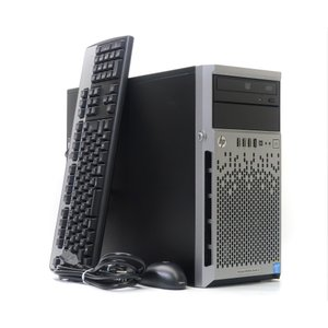 hp ProLiant ML310e Gen8 v2 Xeon E3-1220 v3 3.1GHz 8GB 1TBx1台(SATA3.5インチ/RAIDなし) DVD-ROM SmartArray-B120i