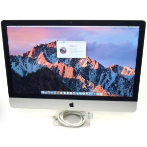 Apple iMac 27インチ Late 2012 Core i5-3470 3.2GHz 8GB 1TB(HDD) GeForce GTX675MX WQHD 2560x1440 macOS Sierra 10.12.6|tce-direct