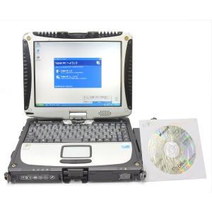 Panasonic TOUGHBOOK CF-19DC5DVS CoreDuo U2400 1.06GHz 512MB 80GB 10.4インチXGA WindowsXPTablet+Office2003|tce-direct