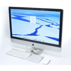 Apple iMac 27インチ Core i7 2.93GHz/8GB/1TB/Radeon HD 5750/DVD/OSX Mid 2010 WQHD 2560x1440ドット OSX10.9.5|tce-direct