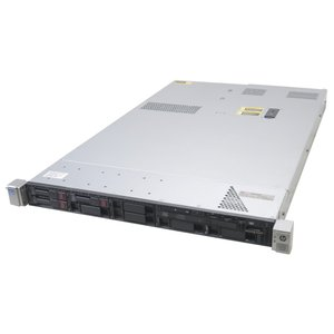 hp ProLiant DL360p Gen8 Xeon E5-2603 1.8GHz 8GB 300GBx3台(SAS2.5インチ/6Gbps/RAID5構成) DVD-ROM AC*2 SmartArray P420i