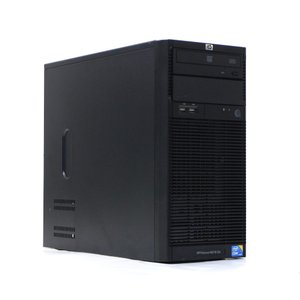 hp ProLiant ML110 G6 Core i7-870 2.93GHz 4GB 500GBx2台(SATA3.5インチ/RAID1構成) DVD-ROM SmartArray B110i