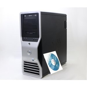 DELL Precision 690 Xeon 5150 2.66GHz/4GB/250x2台構成/FX3450/DVD+-RW/Windows XP Pro 32bit|tce-direct