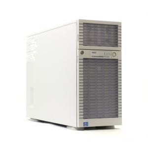 NEC Express5800/T110d Xeon E5-2403 1.8GHz 12GB 1TBx2台(SATA 2.5インチ/RAID1構成) DVD-ROM LSI Mega RAID SAS 9267-8i